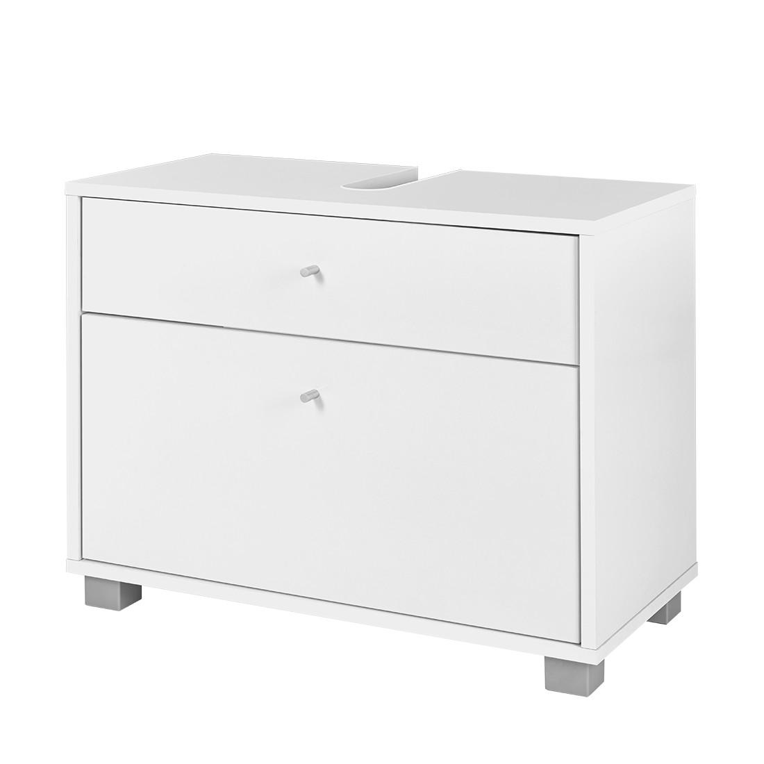 Mobile per lavabo Verna - Bianco lucido, Schildmeyer