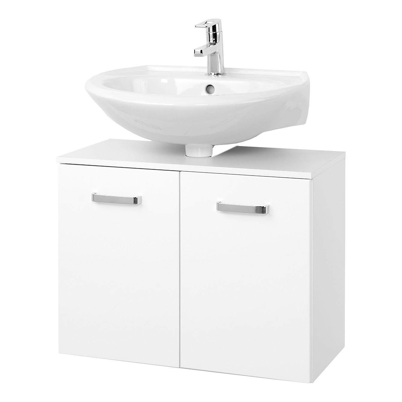 Armadietto da lavabo Zeehan I - Bianco 70 cm, Giessbach