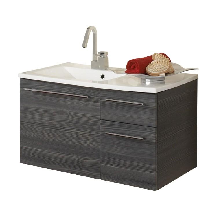 Home 24 - Meuble lavabo markham - pin / anthracite, aqua suite