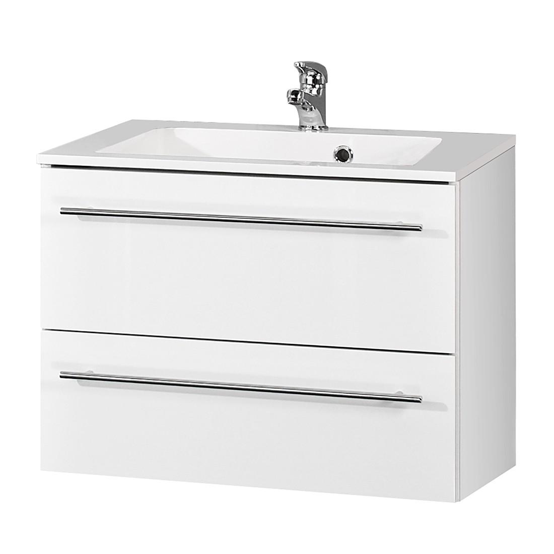 Home 24 - Meuble lavabo bern i - blanc, schildmeyer