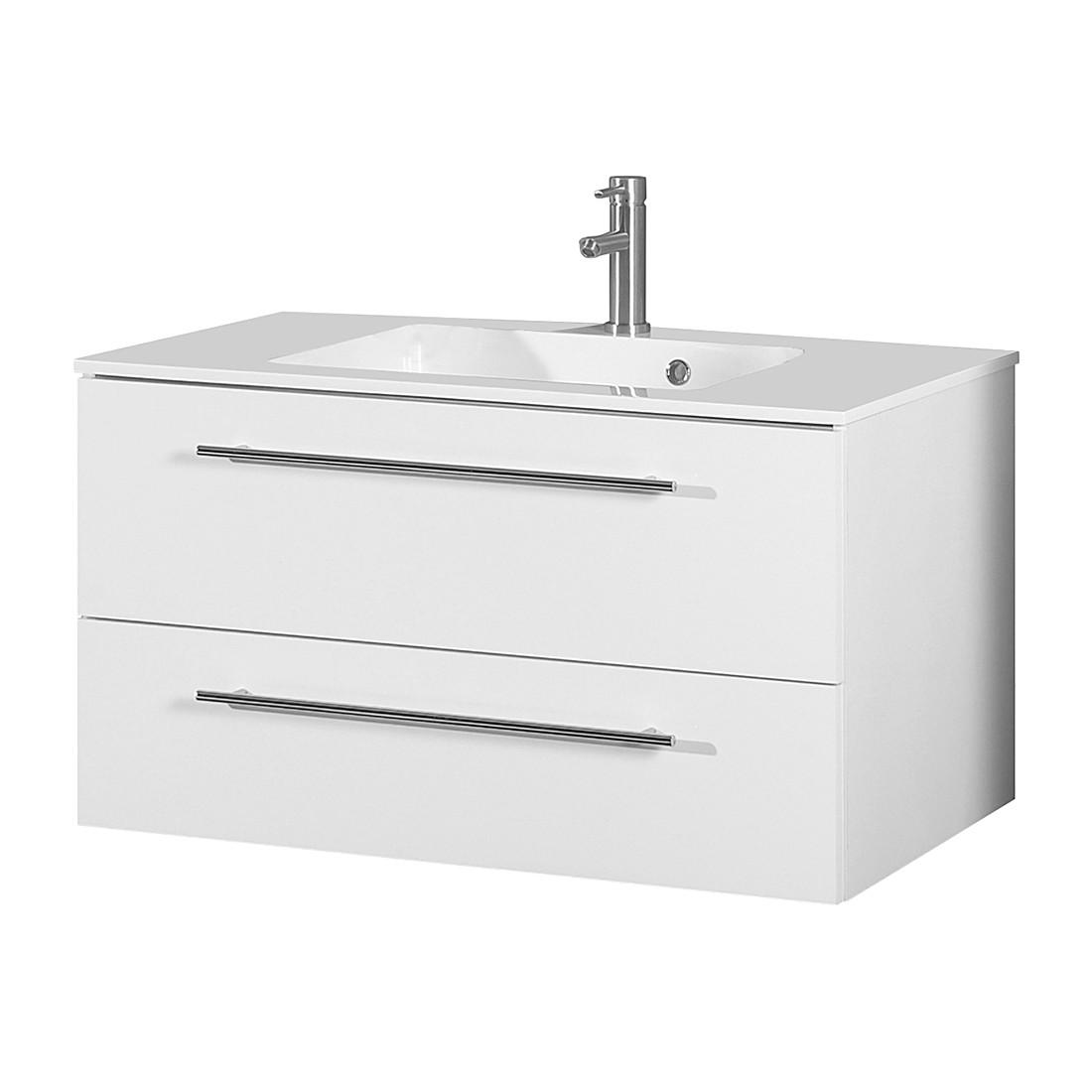 Home 24 - Meuble lavabo bern iii - blanc, schildmeyer
