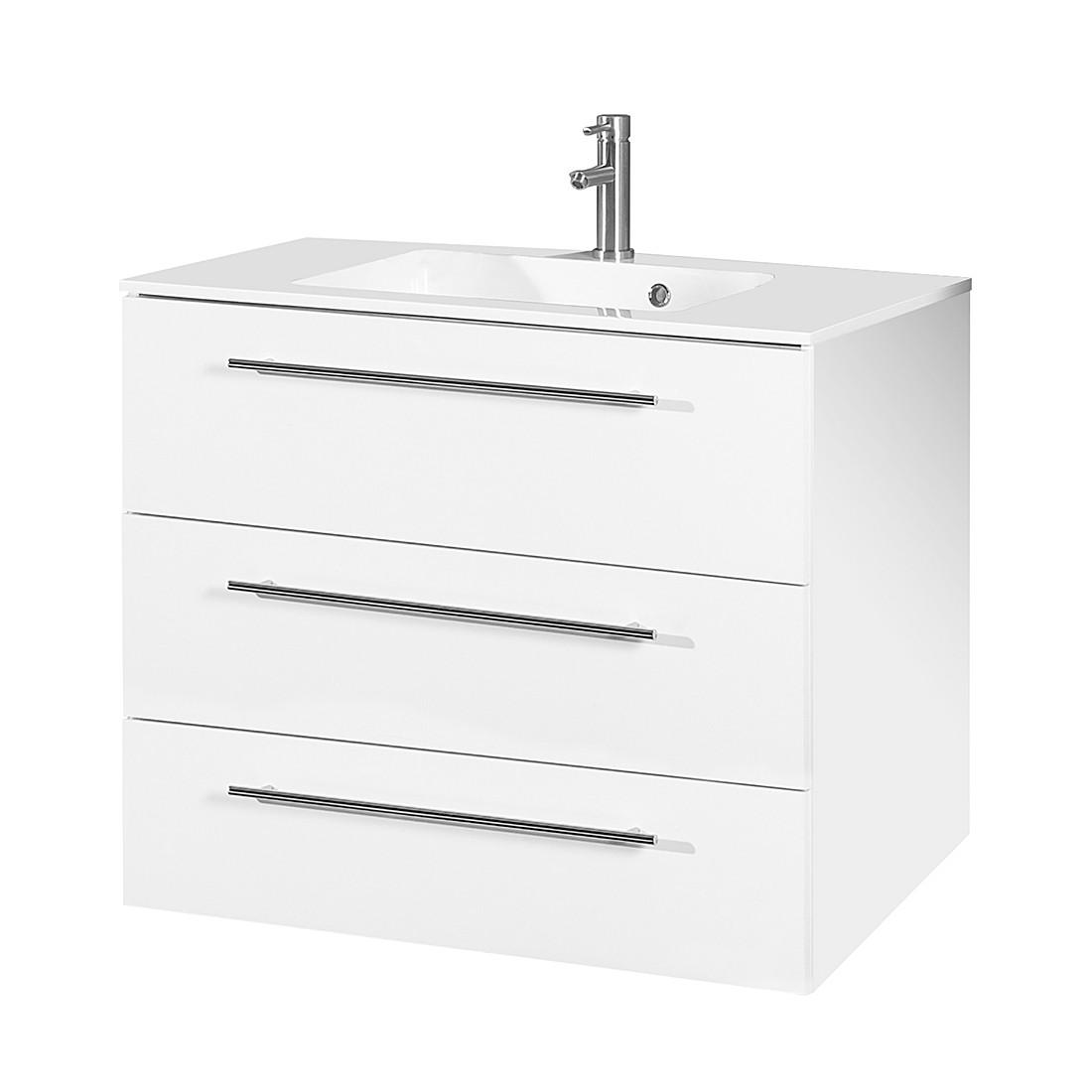 Home 24 - Meuble lavabo bern iv - blanc, schildmeyer