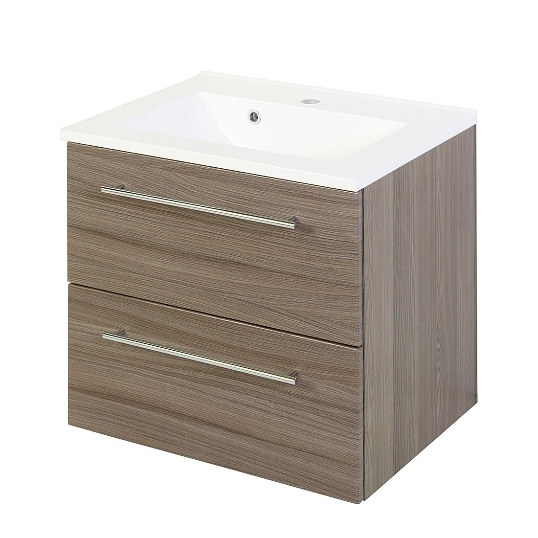 Mobile per il lavabo Gali - Quercia scura 60 cm, Fredriks