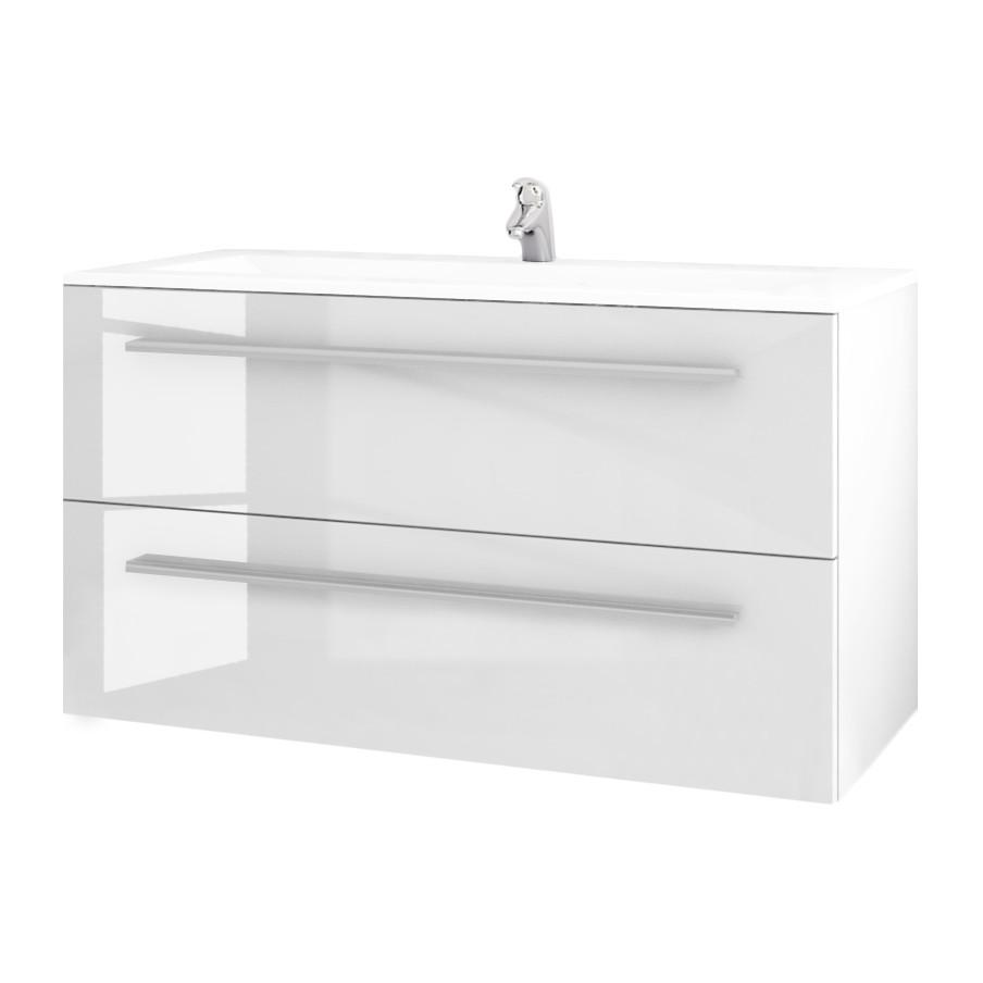 Home 24 - Lavabo lagarto - blanc - 60 cm, sieper