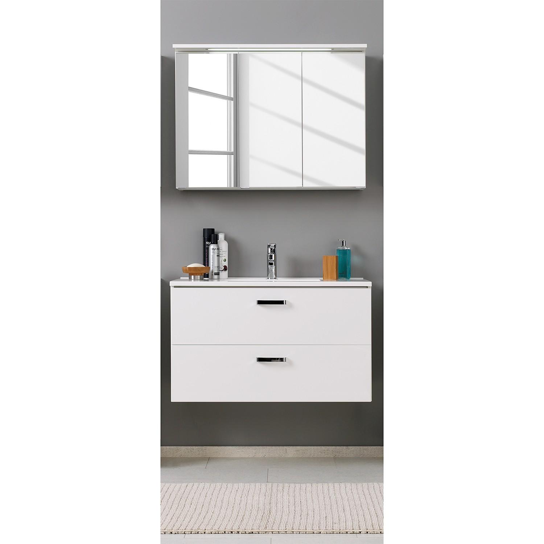Home 24 - Ensemble pour lavabo zeehan (2 éléments) - blanc 100 cm, giessbach