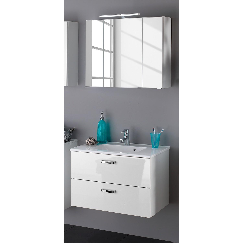 Waschtisch-Set Zeehan (2-teilig) - Weiß - 80 cm, Giessbach