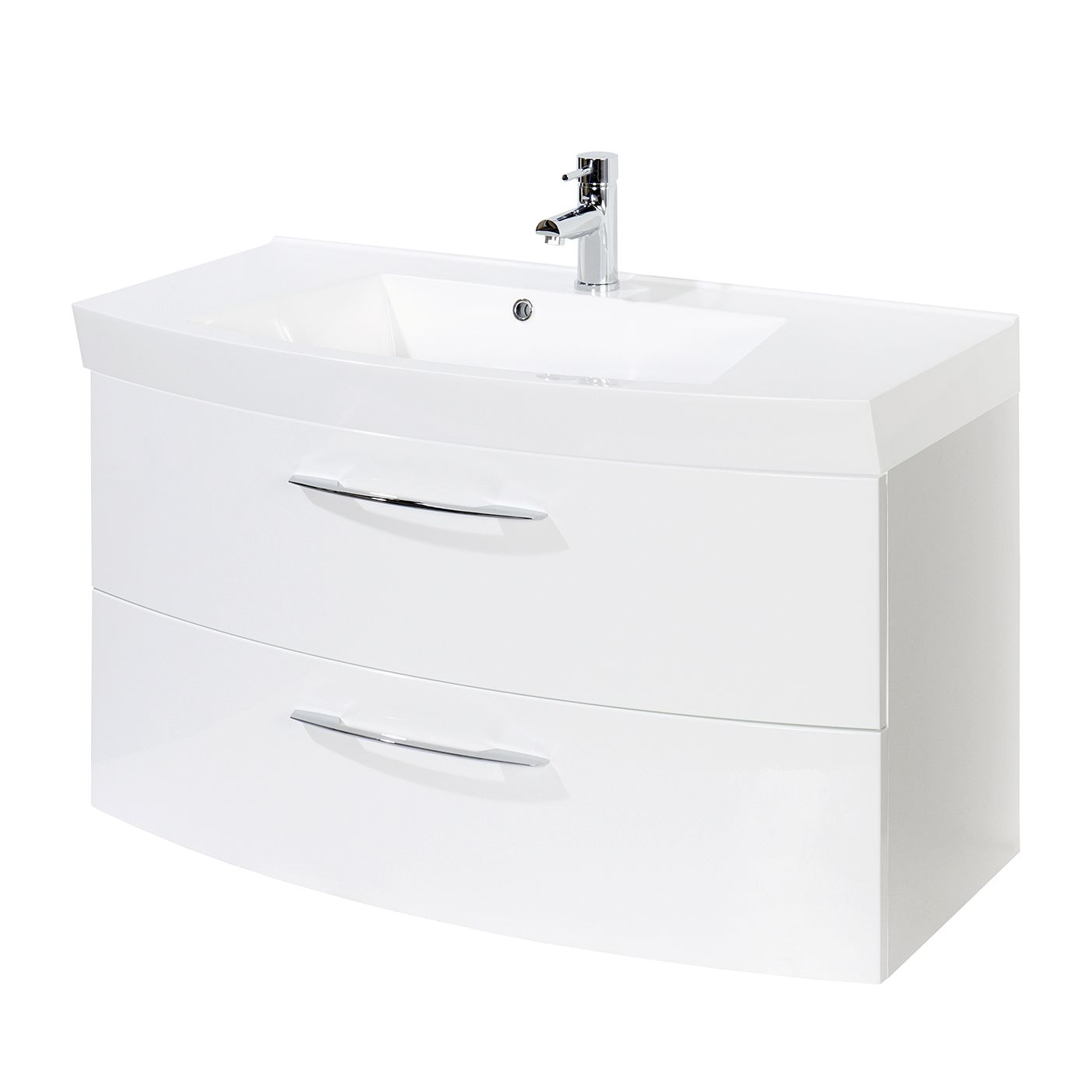 Mobile lavabo Strahan - Bianco, Giessbach