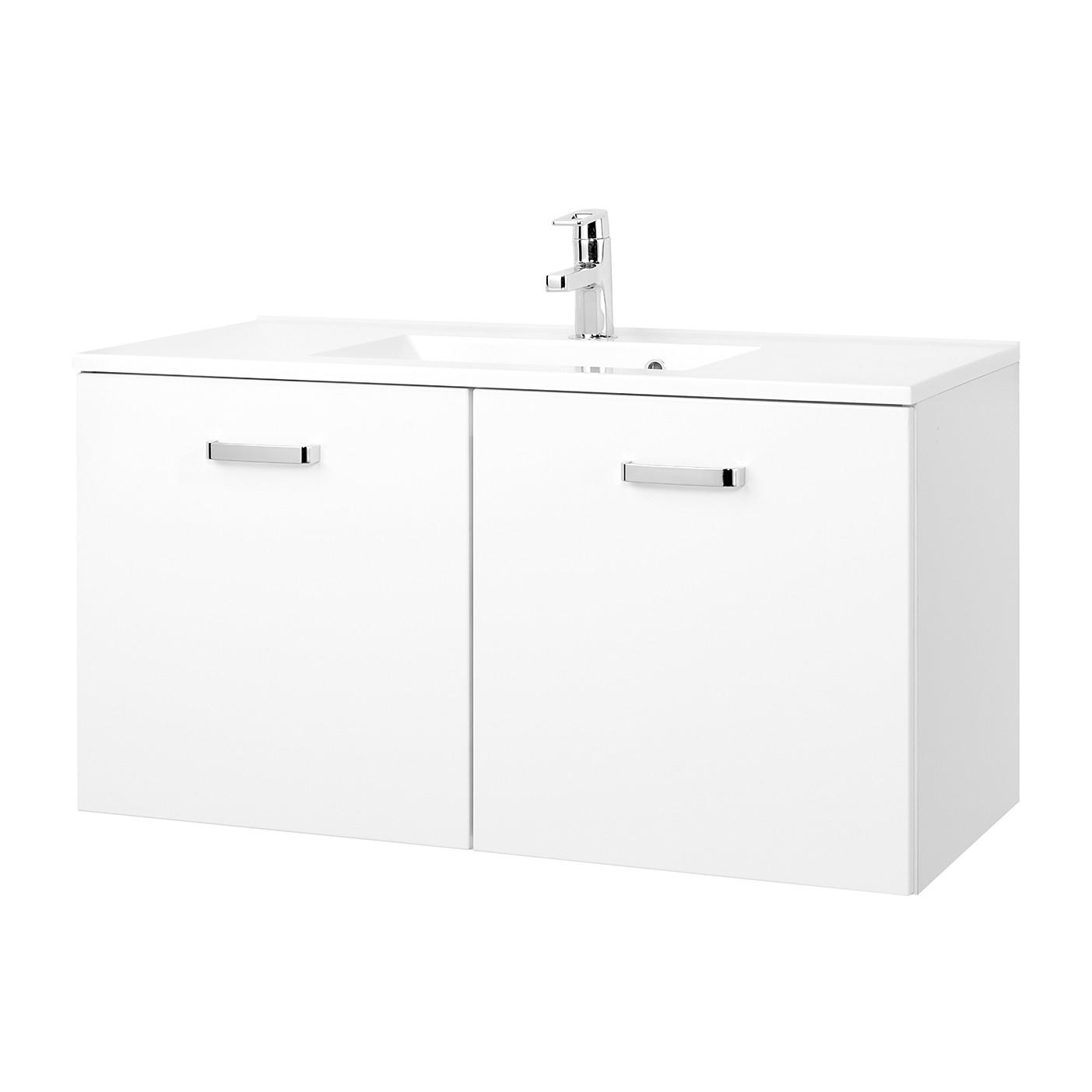Waschtisch Zeehan - Weiß - 100 cm, Giessbach