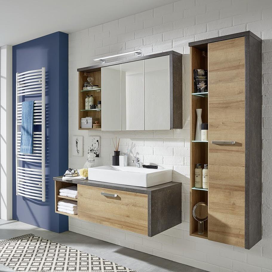 trendteam waschtischunterschrank ohne waschbecken. Black Bedroom Furniture Sets. Home Design Ideas