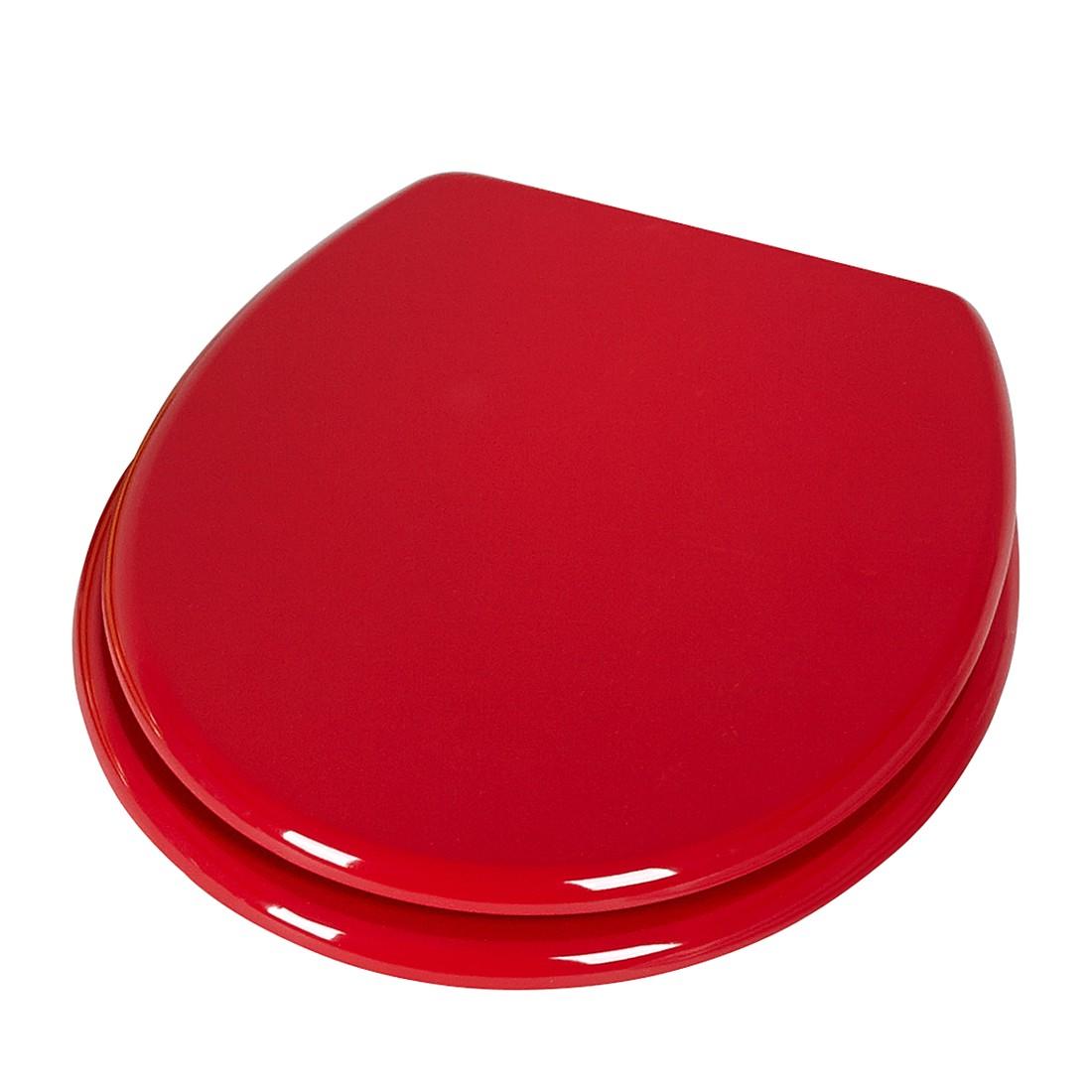 WC-Sitz Elba - Duroplast - Rot, Sanwood