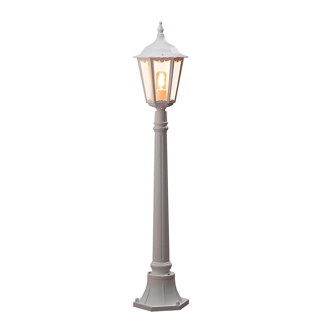 energie  A++, Grondverlichting Firenze Up - aluminium/glas 1 lichtbron, Konstsmide