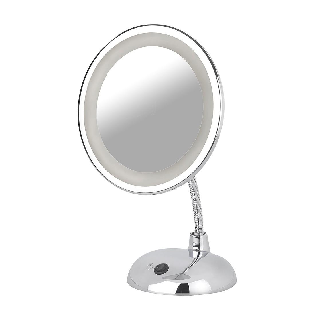 LED cosmetica spiegel Style 3 voudige zoom   chroomkleurig_ Wenko