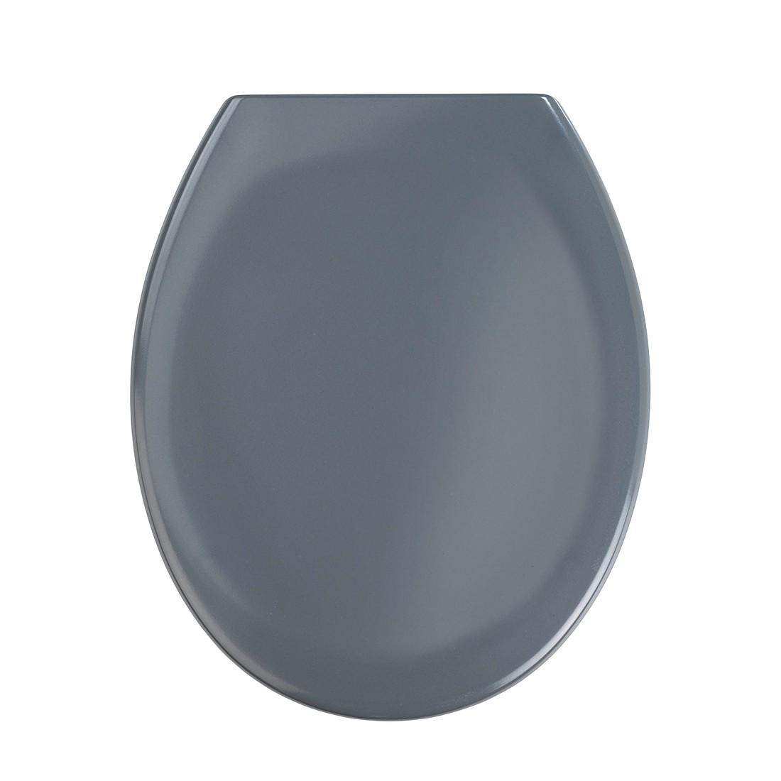 Premium wc-bril Ottana (met softclose) - donkergrijs, Wenko