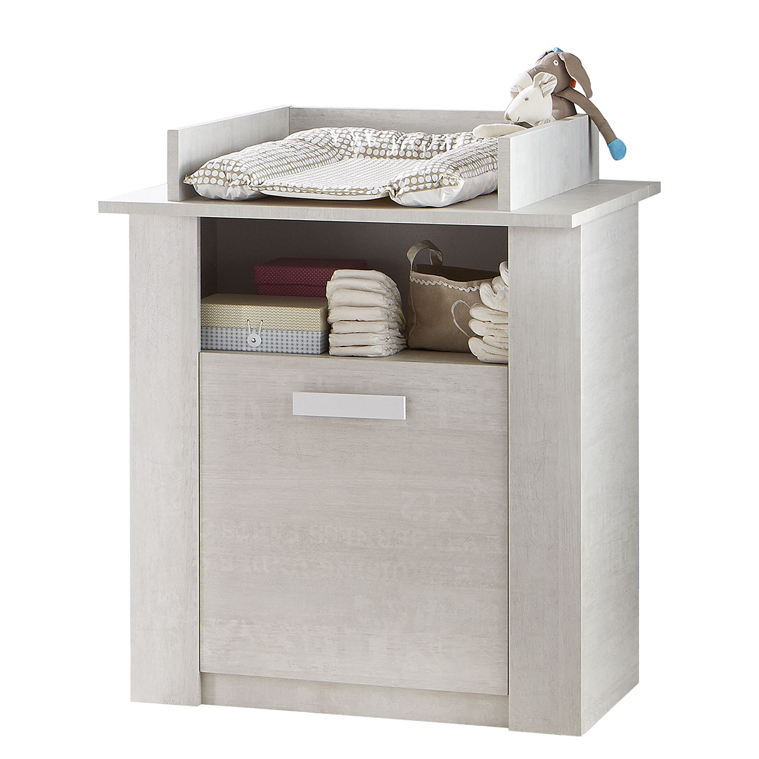 Verschoningscommode Ila   vintage grijs_ Kids Club Collection