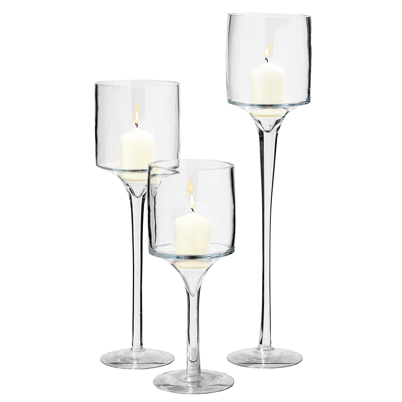 Windlichten Arosa (3-delig) - glas, Maison Belfort