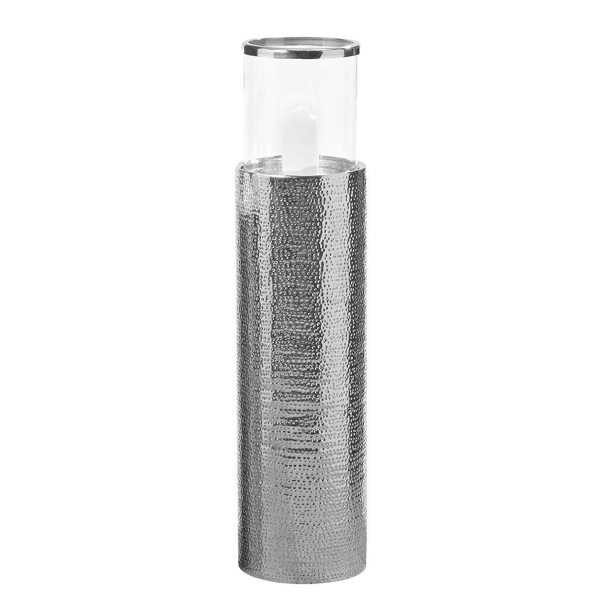 Windlicht Selina - ijzer - zilverkleurig - 104, ars manufacti