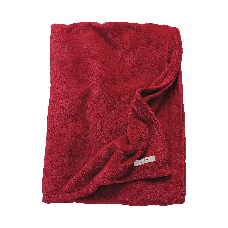 Image of Coperta arredo Mellow - Rosso, Esprit Home