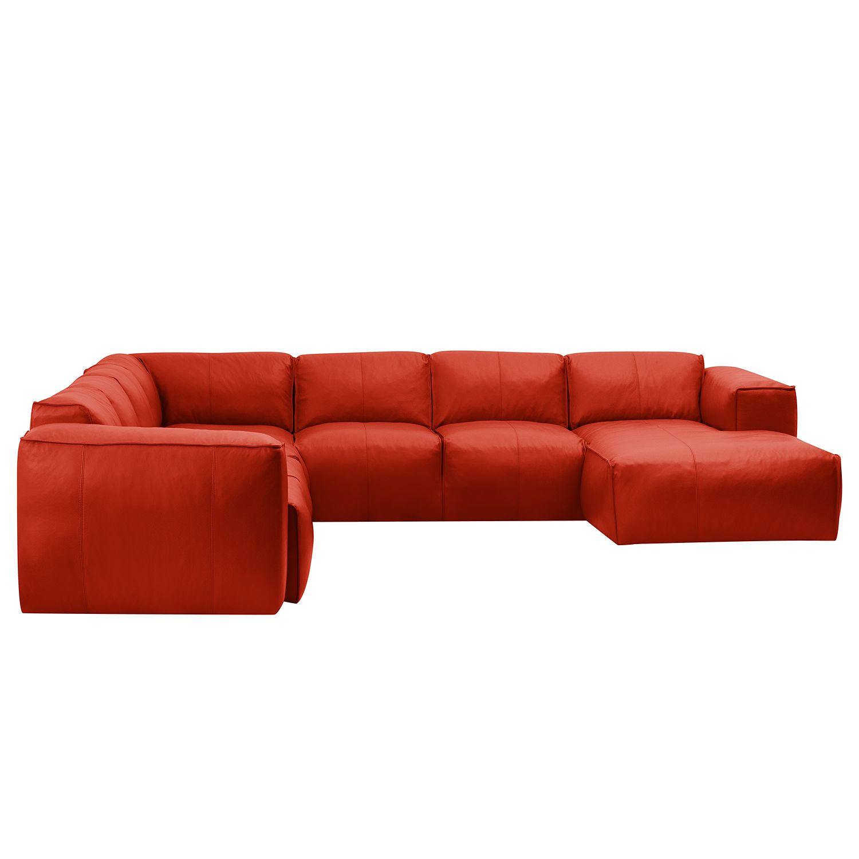wohnlandschaft hudson ii echtleder longchair. Black Bedroom Furniture Sets. Home Design Ideas