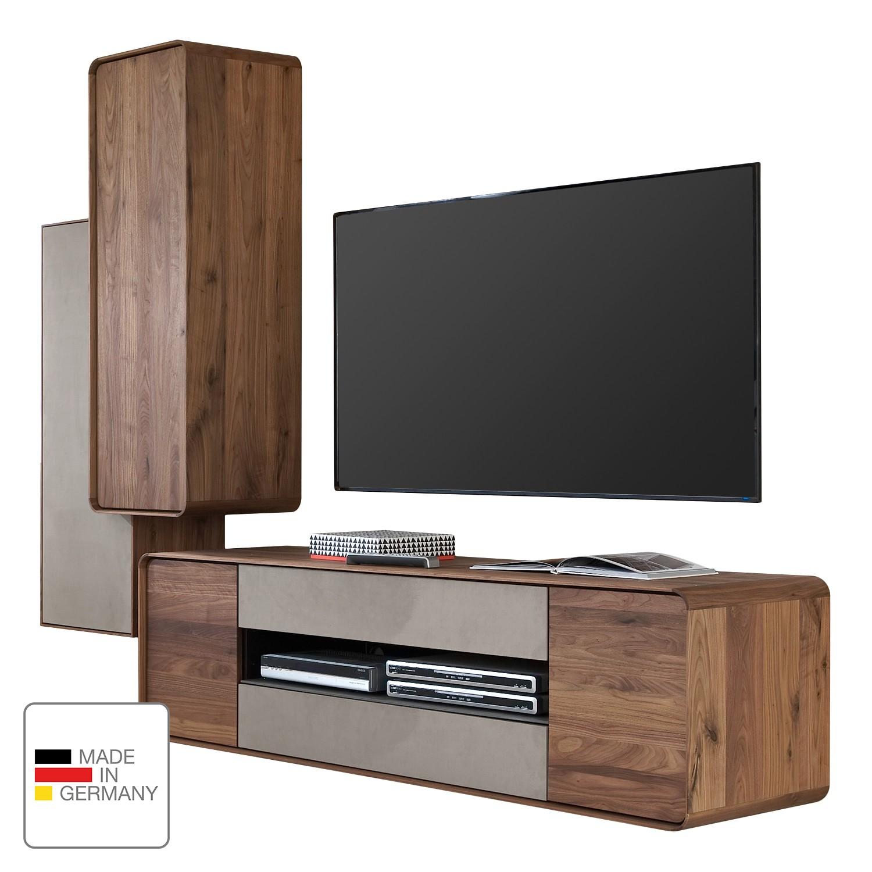 13 sparen wohnwand bo von hartmann nur cherry m bel home24. Black Bedroom Furniture Sets. Home Design Ideas
