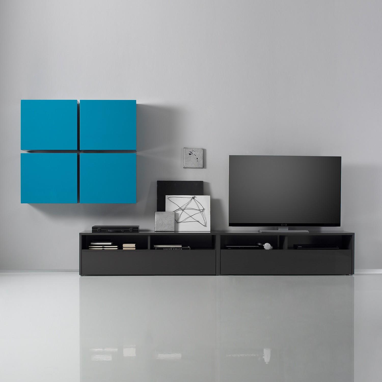 wohnwand schwarz hochglanz gebraucht interessante ideen f r die gestaltung eines. Black Bedroom Furniture Sets. Home Design Ideas