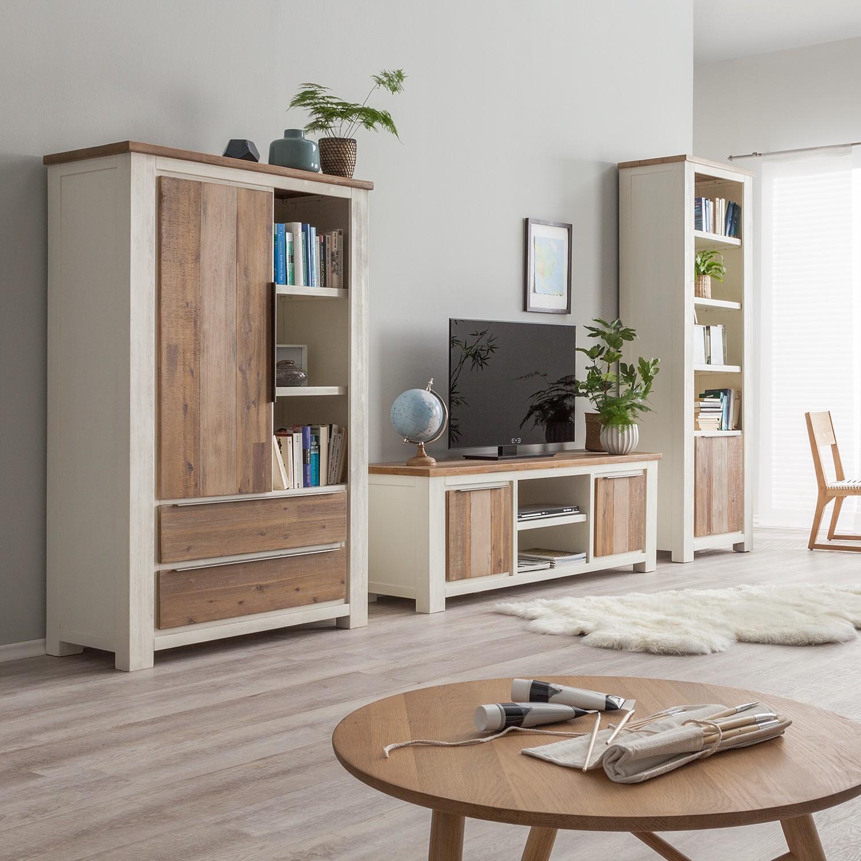 wohnwand akazie preisvergleiche erfahrungsberichte und kauf bei nextag. Black Bedroom Furniture Sets. Home Design Ideas