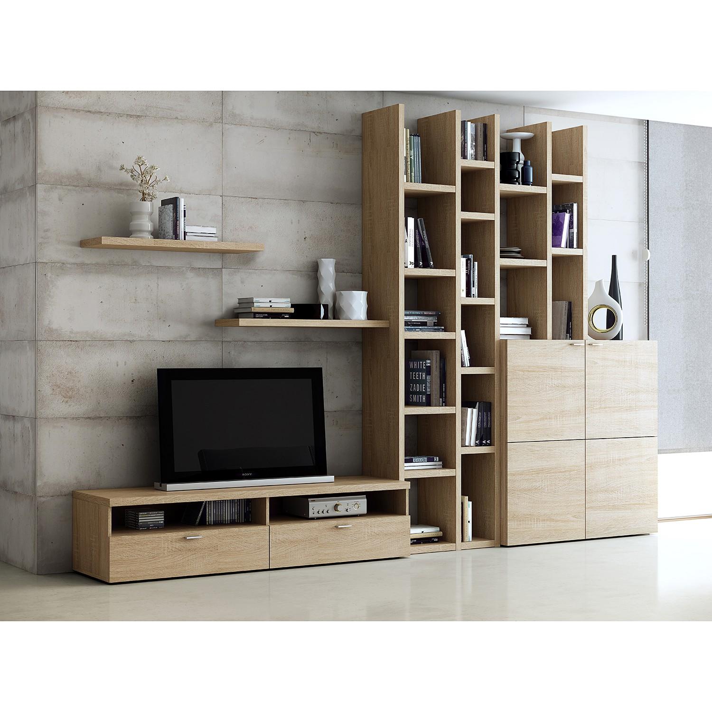 Ensemble de meubles TV Emporior i - Chêne de Sonoma, Fredriks