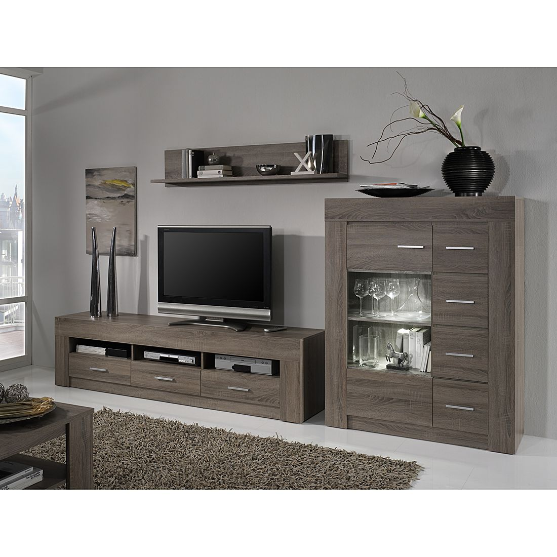 sonoma eiche deko interessante ideen f r. Black Bedroom Furniture Sets. Home Design Ideas
