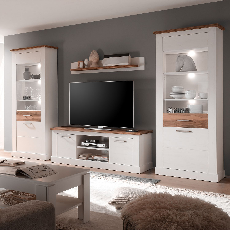 wohnwand nussbaum preisvergleich die besten angebote online kaufen. Black Bedroom Furniture Sets. Home Design Ideas