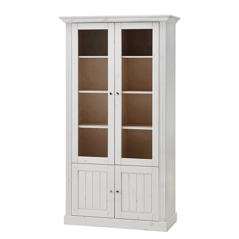 Vente armoire tritoo maison et jardin - Armoire pin massif blanc ...