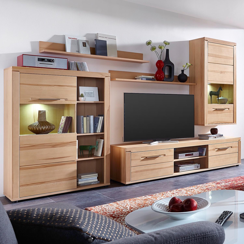 Wohnwand kernbuche preisvergleich • die besten angebote online kaufen