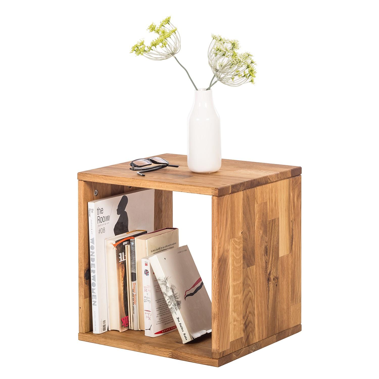 Scaffale a cubo GrapWOOD - Legno massello di quercia, Ars Natura