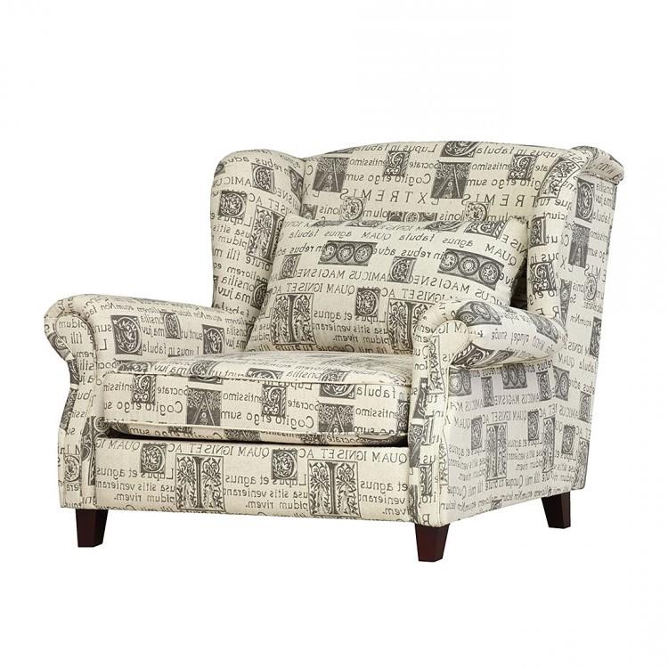 XXL-Sessel Ignis - Webstoff Beige, Maison Belfort jetzt bestellen