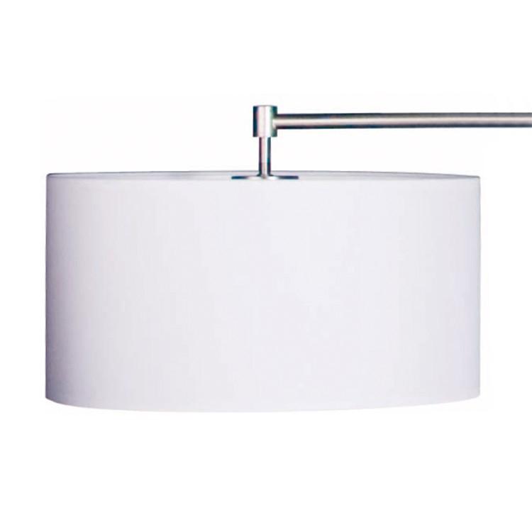 abat jour rond 35 cm tissu blanc steinhauer le fait main. Black Bedroom Furniture Sets. Home Design Ideas