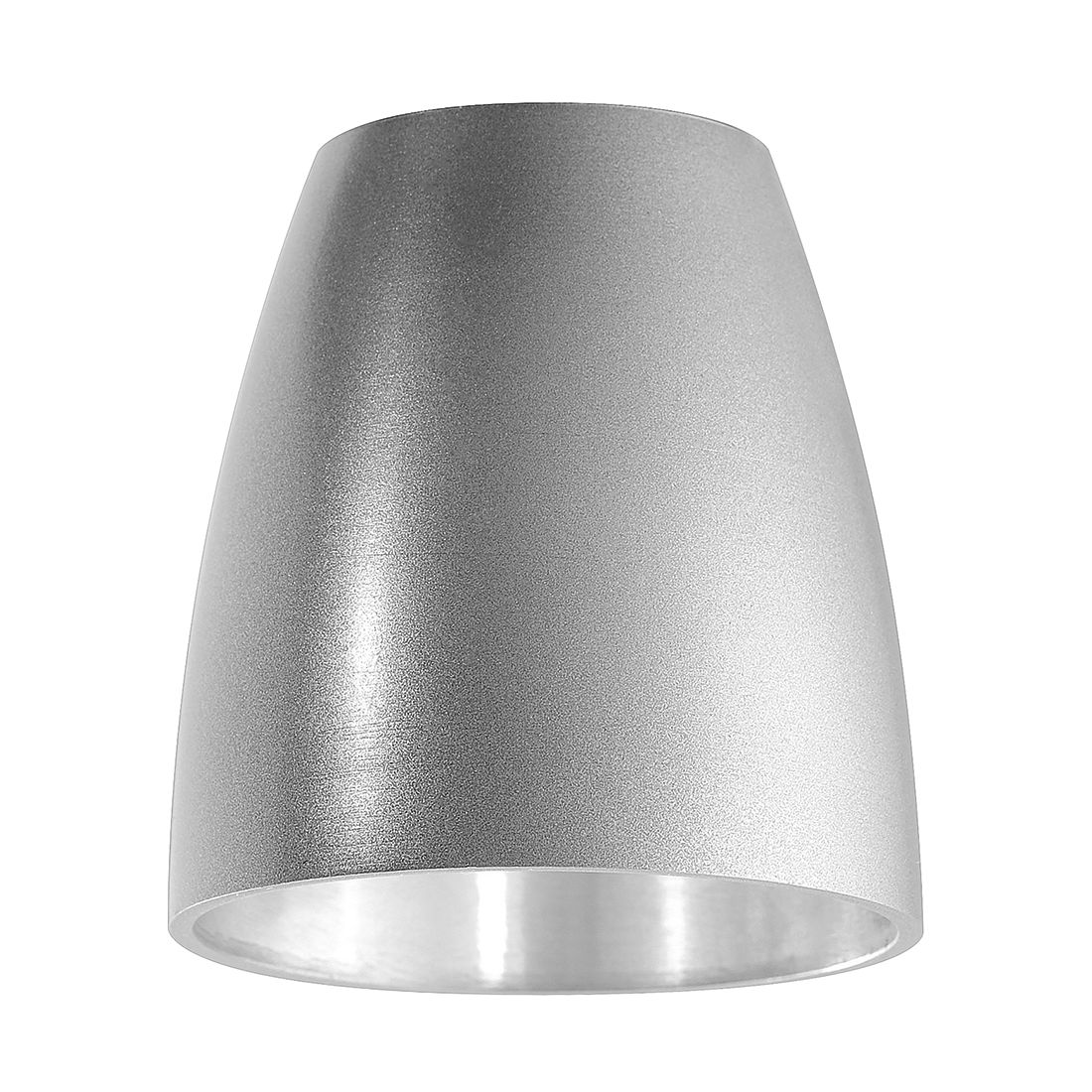 Image of Paralume metallico - Accessorio M6 luce/faretto 18 Metallo Color argento, Fischer Leuchten