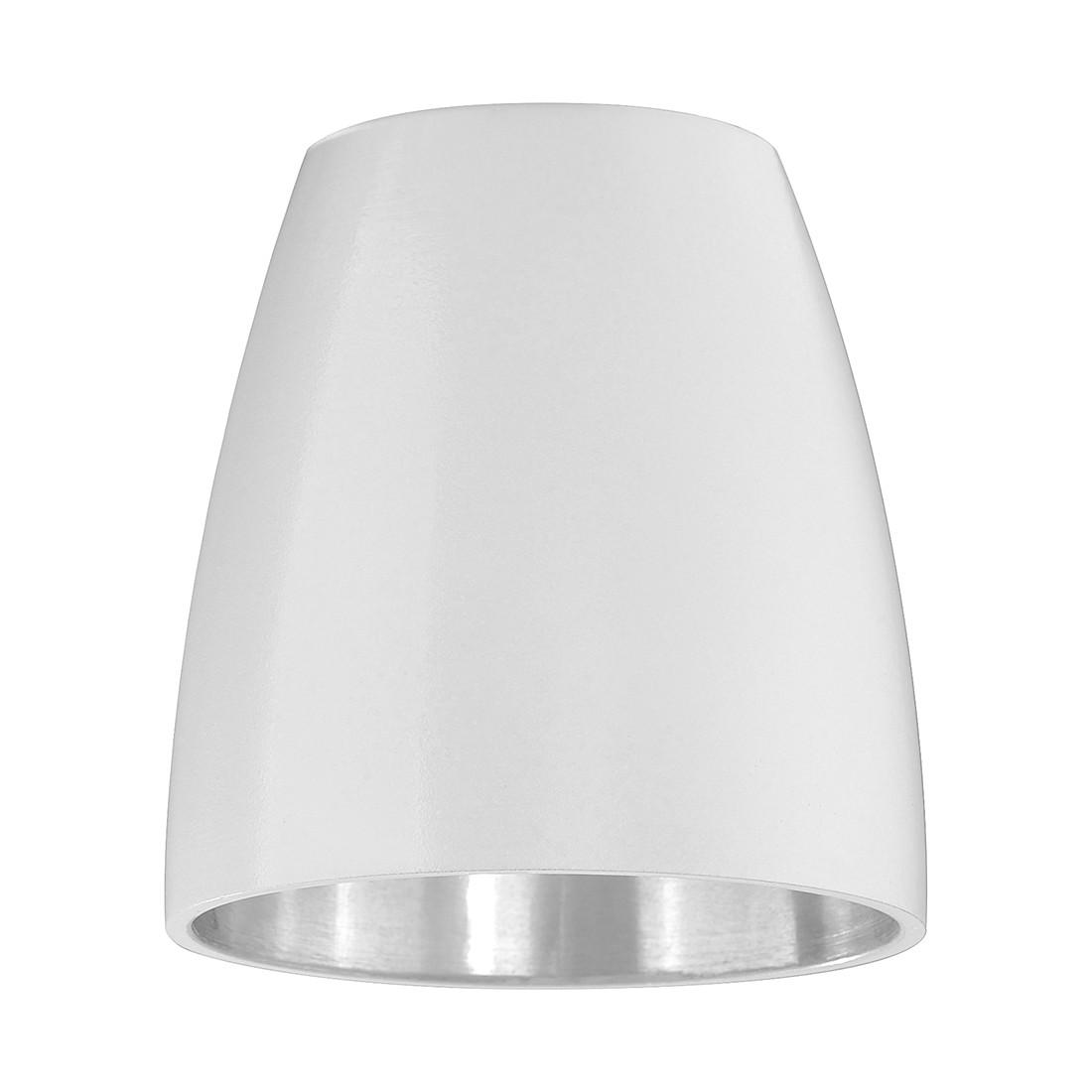 Metalen lampenkap - accessoire M6 licht/spot18 wit metaal, Fischer Leuchten