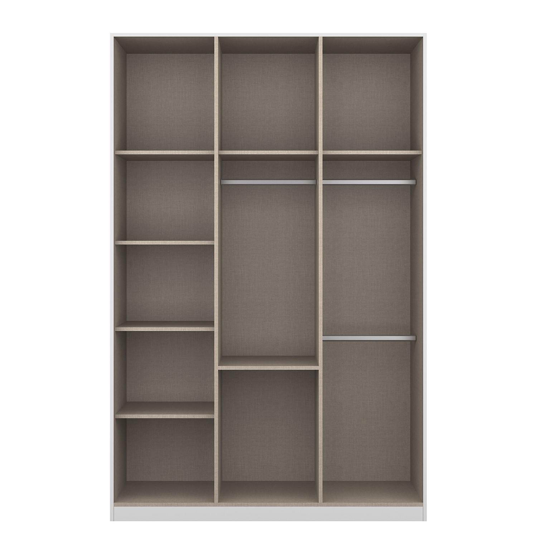 Accessoires pour armoire à portes battantes KiYDOO II - 136 cm (3 portes) - Classic, mooved