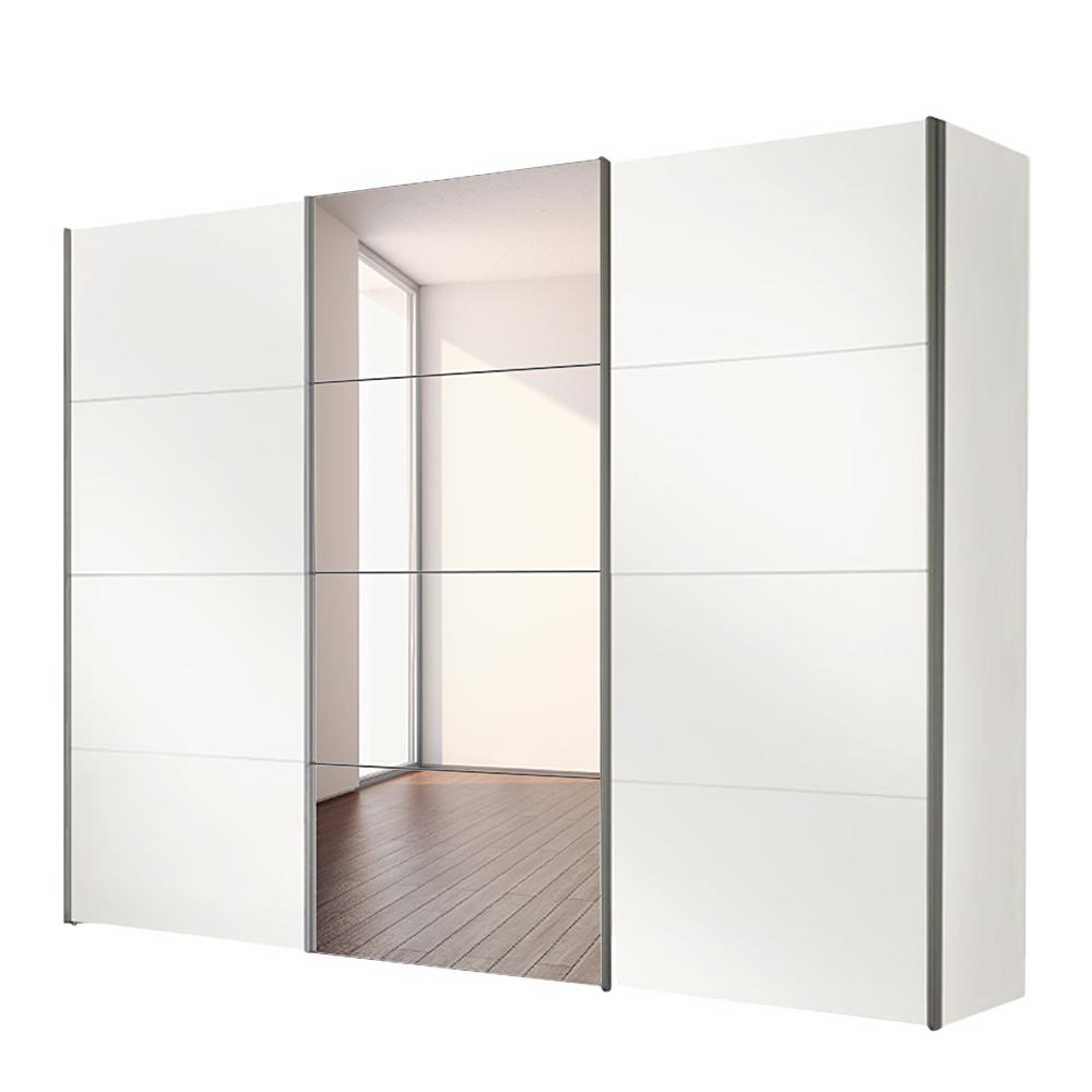 Schwebetürenschrank 3-türig mit Spiegel Kleiderschrank Schlafzimmer Schrank NEU  eBay