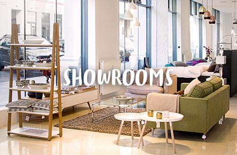 Zu unseren Showrooms