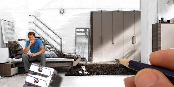 schlafzimmerplanung so planen sie ihr schlafzimmer home24. Black Bedroom Furniture Sets. Home Design Ideas