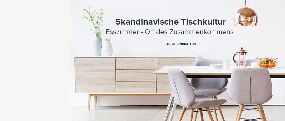 Skandi-Esszimmer