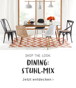 Patchwork Dining: Stuhl-Mix
