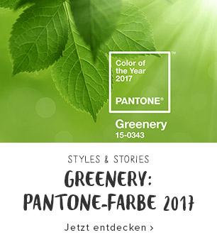 Greenery: Pantone-Farbe des Jahres 2017