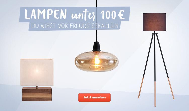 Lampen unter 100 € bei home24