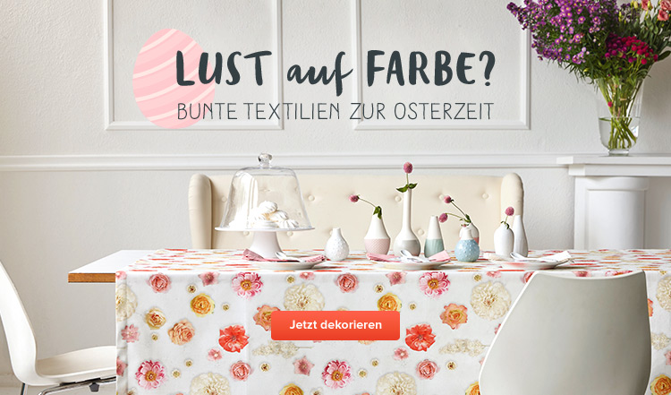 Frohe Ostern - Textilien