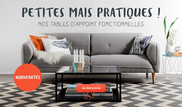 Tables d'appoint - Nouveautés