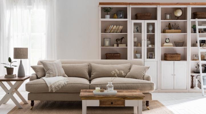 Wohnzimmer im Landhaus Stil - home24