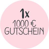 1000€ Gutschein