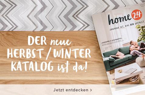 Jetzt den neuen home24 Katalog Herbst / Winter 2017 kostenlos bestellen
