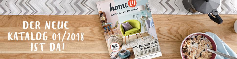 Jetzt den neuen home24 Katalog Januar 2018 kostenlos bestellen