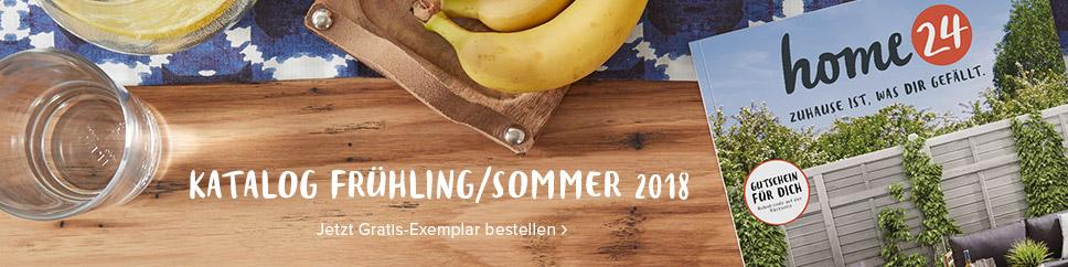 Jetzt den neuen home24 Katalog Frühling/Sommer 2018 kostenlos bestellen